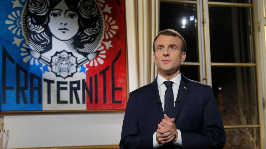 "Macron denuncia ataque de ""chalecos amarillos"" a ""la República"" | HISPANTV"
