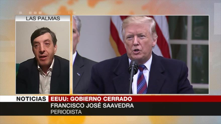 Saavedra: Solucionar cierre parcial de EEUU será complicado