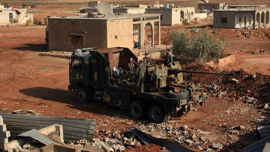 Ejército sirio ataca posiciones de terroristas en Hama e Idlib | HISPANTV