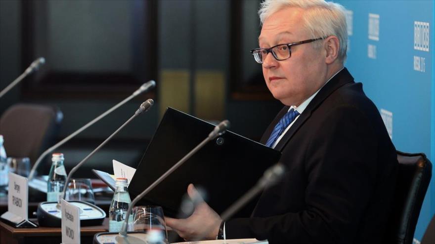 El vicecanciller de Rusia, Serguéi Riabkov.