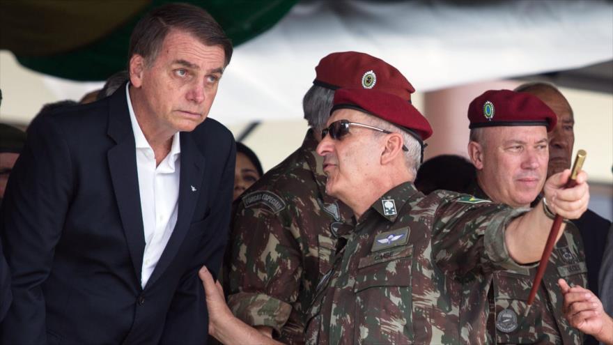 'Ejército brasileño es reacio a la instalación de base de EEUU'
