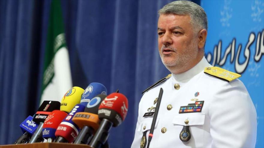 El comandante de la Fuerza Naval del Ejército de Irán, el almirante Hosein Janzadi. (Foto: IRNA)