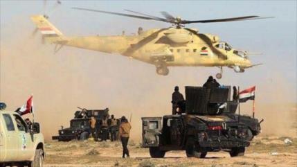 Irak destruye un gran campamento militar de Daesh en Kirkuk
