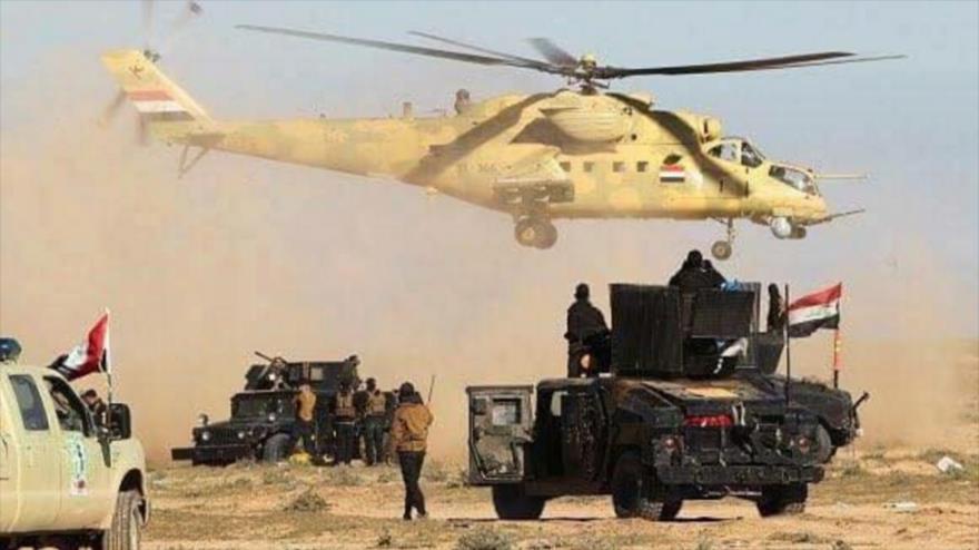 Soldados iraquíes desplegados en la provincia norteña de Kirkuk.