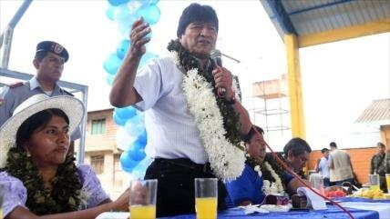 Morales llama a la unidad contra la derecha y el capitalismo