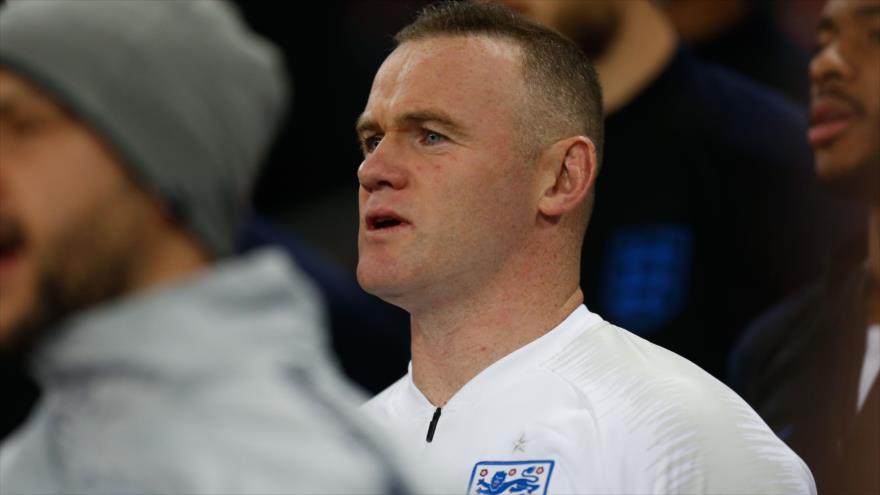 El astro del fútbol inglés Wayne Rooney durante un partido amistoso entre Inglaterra y EE.UU. en Londres, 15 de noviembre de 2018. (Foto: AFP)