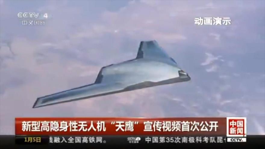 Vídeo: Vean el novedoso dron con forma de ovni de China