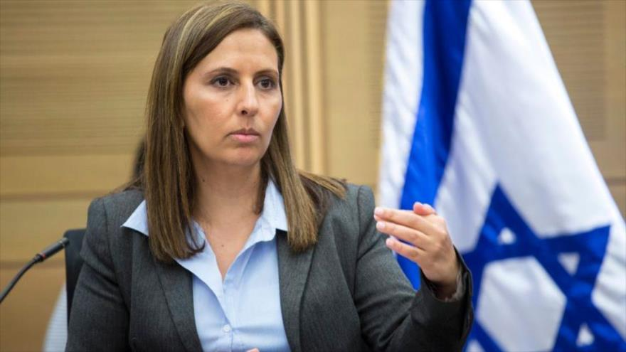 Gila Gamliel, ministra de igualdad social del régimen de Israel.