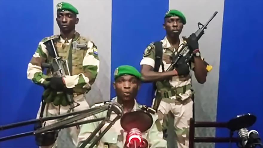 El Ejército de Gabón anuncia golpe de Estado, 7 de enero de 2019. (Foto: AFP)