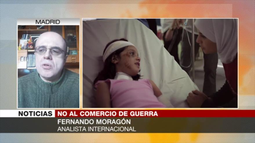 Moragón: España no cesa venta de armas a Riad por sus estrechos lazos