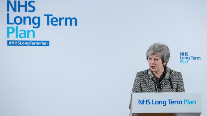 Theresa May busca apoyos de última hora para el Brexit