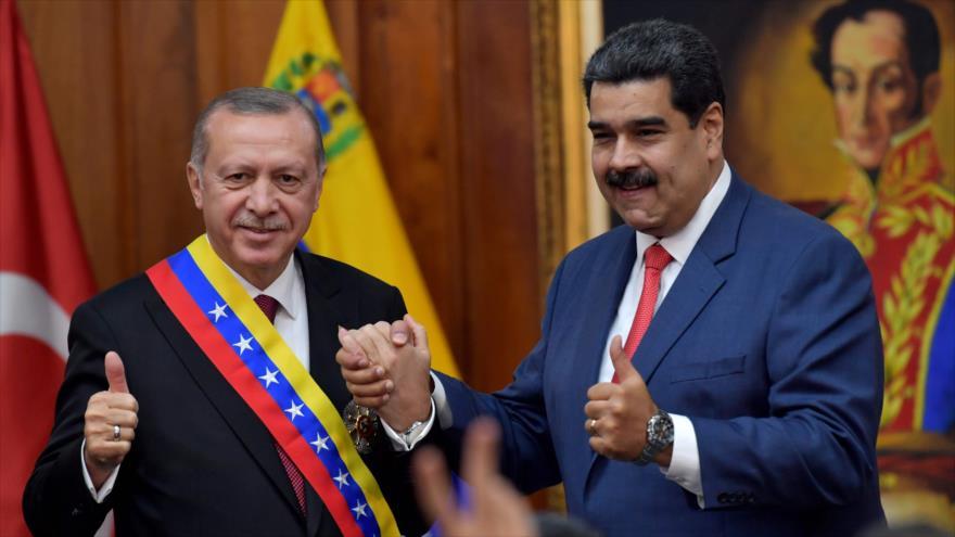 Erdogan ratifica su apoyo al nuevo mandato de Maduro en Venezuela | HISPANTV