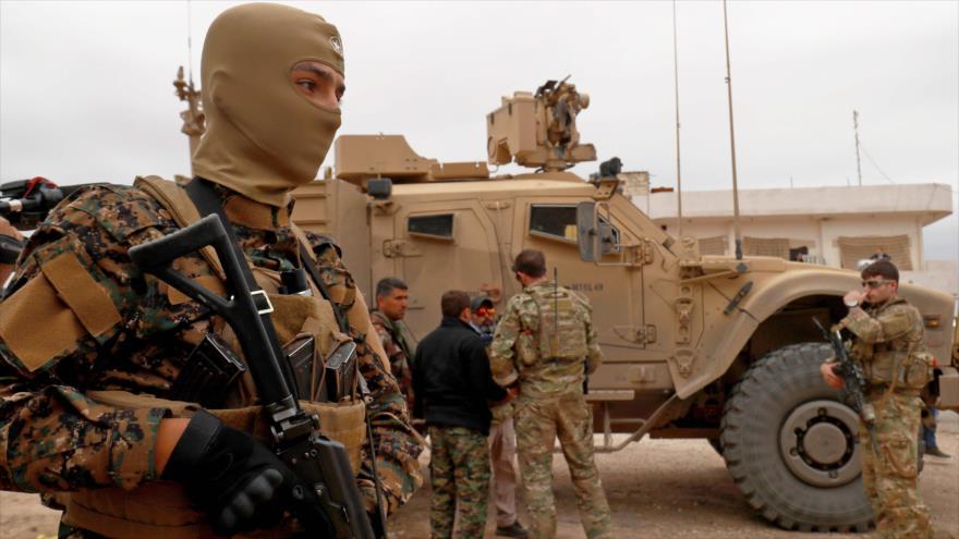 Las fuerzas estadounidenses apoyan a las milicias kurdas en el norte de Siria, 4 de noviembre de 2018. (Foto: AFP)