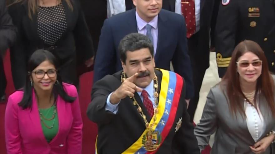 Maduro advierte que hará respetar legitimidad de su nuevo mandato