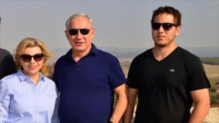 Israel paga $27 000 al mes para proteger a hijo menor de Netanyahu