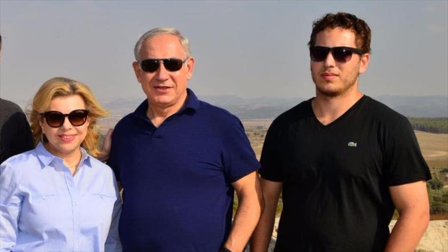 Israel paga $27 000 al mes para proteger a hijo menor de Netanyahu | HISPANTV