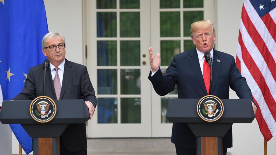 EEUU degrada sin previo aviso la embajada europea y enfurece a la UE