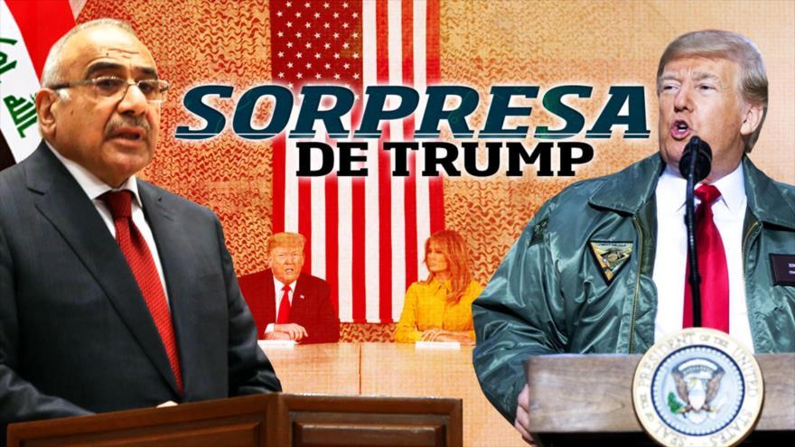 Detrás de la Razón: Secretos de Trump; Irak, Ejército Espacial, robo en Pentágono; Rusia presenta misil invencible