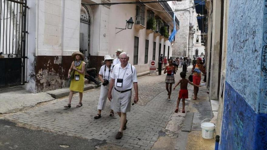 Turistas estadounidenses en Cuba.