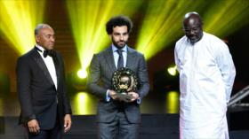Coronan a Salah como mejor jugador de África por segundo año