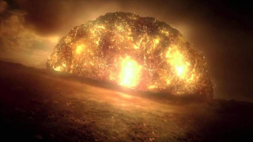 Vean la simulación de un tsunami que exterminó a los dinosaurios