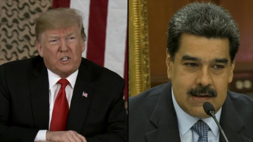 Maduro denuncia golpe ordenado desde EEUU en su contra | HISPANTV