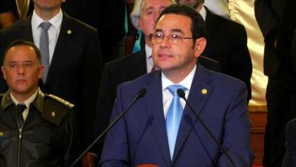 La prioridad de Jimmy Morales es disolver la CICIG