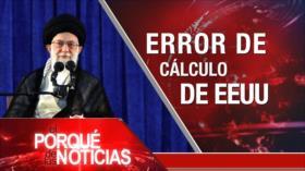 El Porqué de las Noticias: Líder de Irán se pronuncia contra EEUU. Maduro cuestionado por opositores. Trump y su muro.
