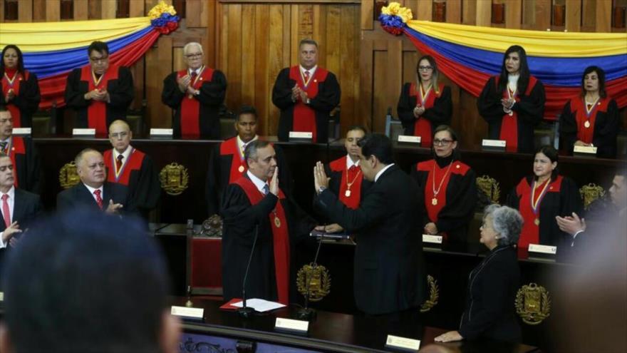 Maduro es investido para su nuevo período de Gobierno 2019-2025 | HISPANTV