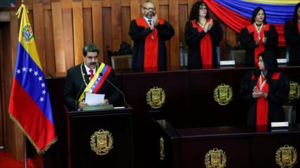 """Maduro repudia agresión de EEUU y sus """"satélites"""" contra Venezuela"""