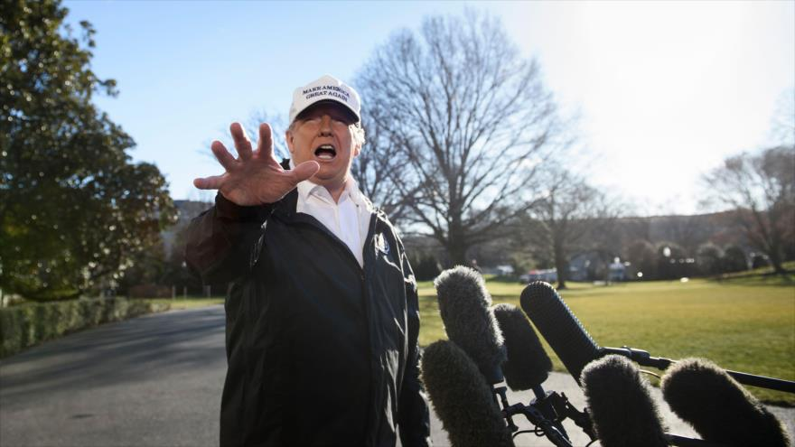 Trump amenaza con declarar emergencia nacional para financiar muro