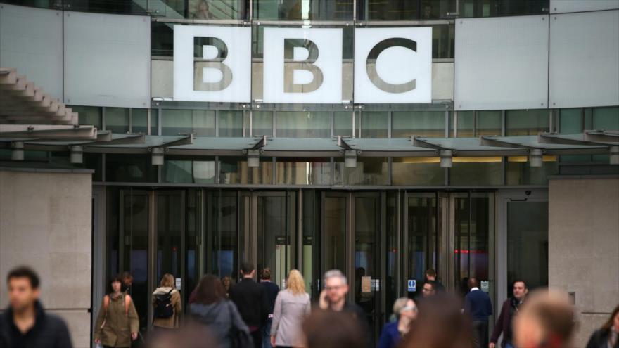 Vista general de la sede de la cadena británica BBC en Londres, 30 de octubre de 2017. (Foto: AFP)