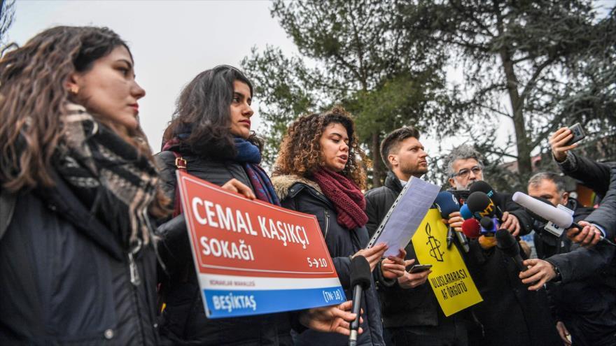 Amnistía pide esclarecer caso Khashoggi a 100 días de su asesinato