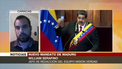 Serafino: Importantes retos esperan a Maduro en su nuevo mandato