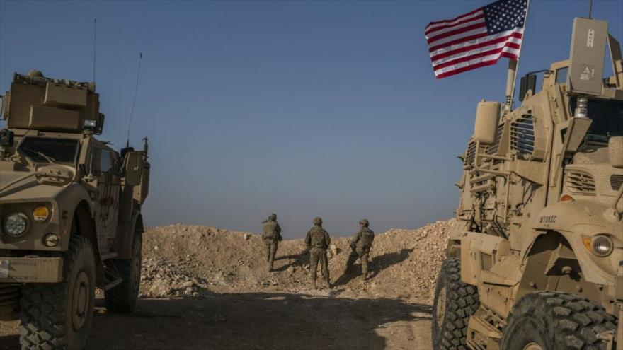 Fuerzas especiales estadounidenses desplegadas en los alrededores de Manbij, norte de Siria.