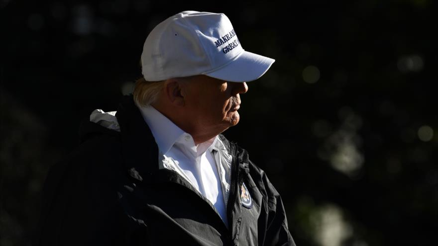 El presidente de Estados Unidos, Donald Trump, Washington DC, 10 de enero de 2019. (Foto: AFP)