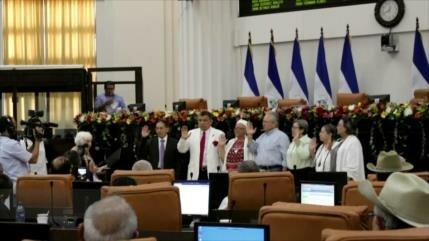 Asamblea Nacional de Nicaragua elige a junta directiva 2019-2021