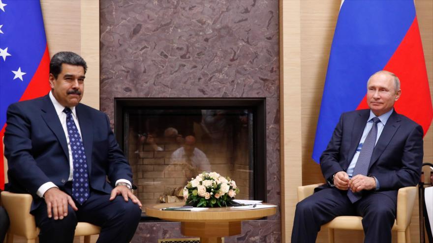 "Rusia apoya a Venezuela ante ""política descarada"" de EEUU | HISPANTV"