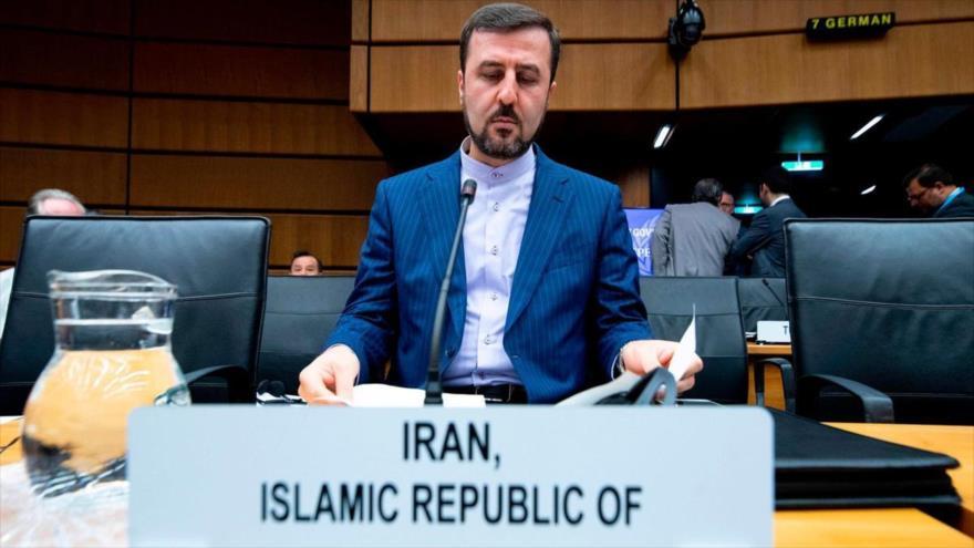El representante permanente de Irán ante las organizaciones internacionales asentadas en Viena (Austria), Kazem Qaribabadi.