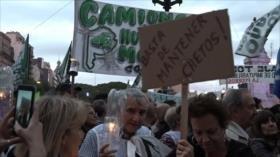 Marcha de los argentinos contra aumento de tarifas