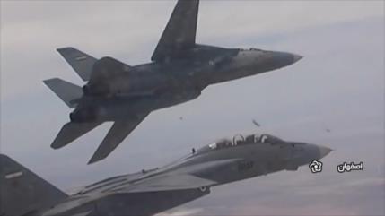 Segunda jornada de maniobras de Fuerzas Aérea de Irán en Isfahán