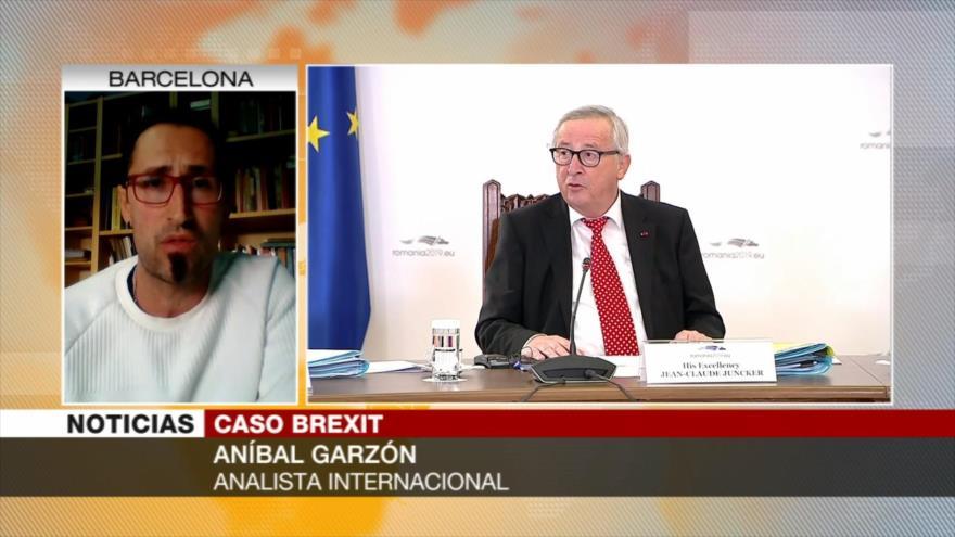 Garzón: Gobierno de Theresa May podría caer por el 'Brexit'