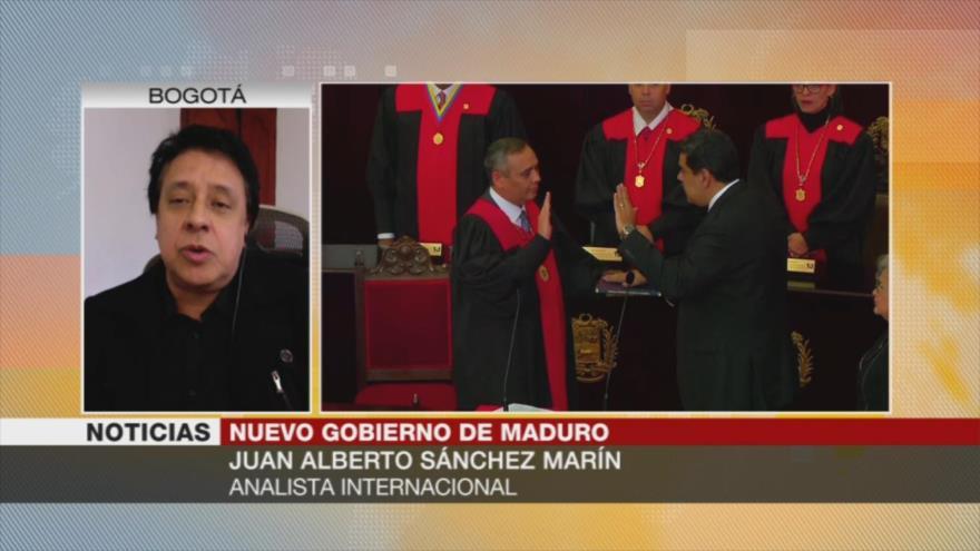 'Debido a sus acciones, Caracas no puede transigir con oposición'