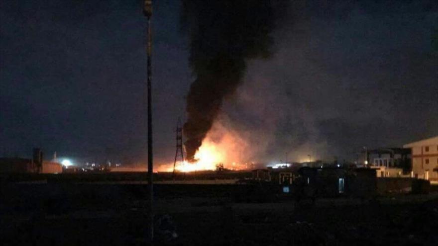 Siria repele ataque israelí y derriba misiles hostiles en Damasco