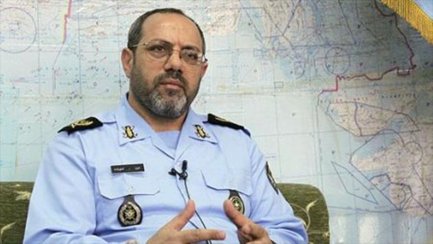 El comandante de la Fuerza Aérea del Ejército iraní, el general de brigada Aziz Nasirzadeh.
