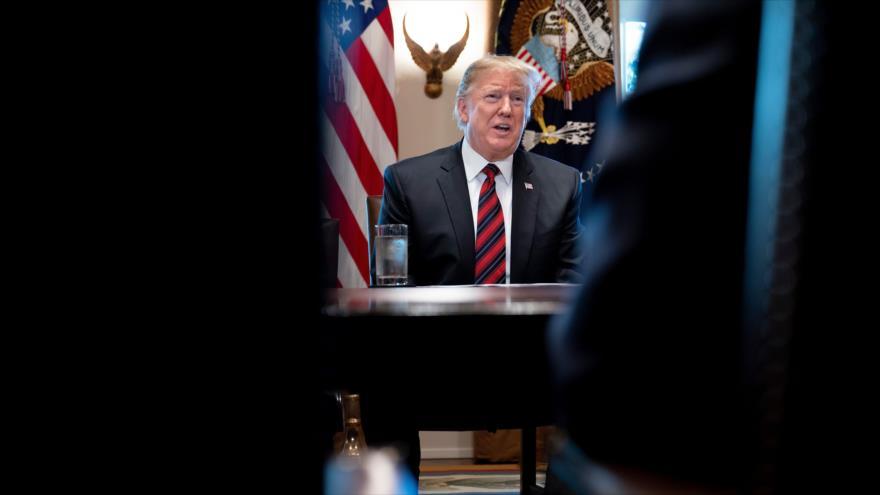 Trump retrasa una posible declaración de emergencia nacional