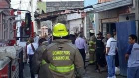 Ecuador: 17 fallecidos por incendio en clínica de rehabilitación