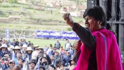 'Mesa, sumiso a intereses externos por pedir injerencia en Bolivia'