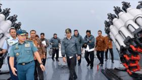 Indonesia fortalece presencia militar en el disputado mar chino