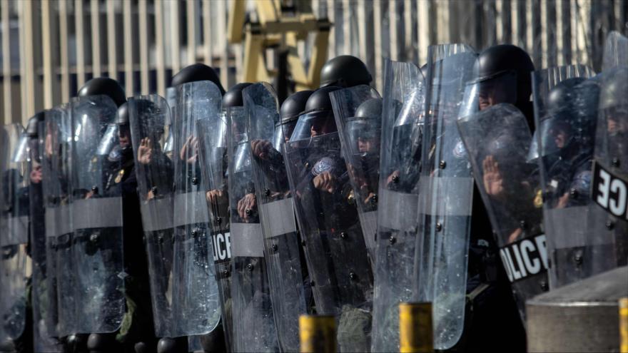 Militares de EEUU celebran maniobras en la frontera con México